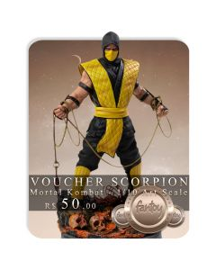 Voucher de Reserva - Scorpion - 1/10 Art Scale - Mortal Kombat - Iron Studios