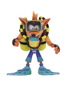"Crash Scuba Gear Deluxe - Crash Bandicoot - 7"" Scale Action Figure - NECA"