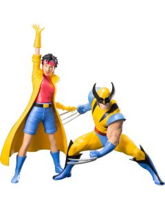 Wolverine & Jubilee Two Pack Artfx+ Statue - X-Men '92 - Kotobukiya