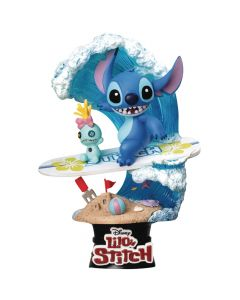 Stitch Surf - D-Stage - Disney - Beast Kingdom