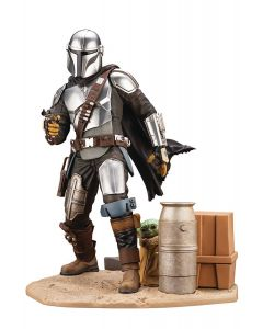 The Mandalorian & The Child - ArtFX Statue - The Mandalorian - Kotobukiya