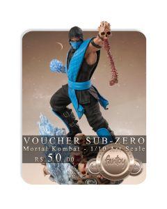Voucher de Reserva - Sub-Zero - 1/10 Art Scale - Mortal Kombat - Iron Studios