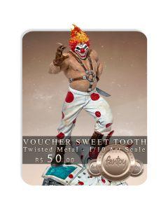 Voucher de Reserva - Sweet Tooth Needles Kane - 1/10 Art Scale - Twisted Metal - Iron Studios