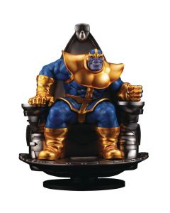 Thanos on Space Throne - Fine Art Statue - Marvel Comics - Kotobukiya