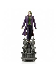 The Joker Deluxe - 1/10 Art Scale - The  Dark Knight - Iron Studios