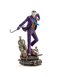 The Joker (VERSÃO REGULAR) 1/10 Art Scale - DC Comics - Iron Studios
