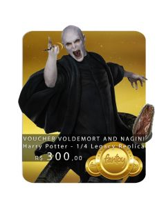 Voucher de Reserva - Voldemort and Nagini - 1/4 Legacy Replica - Harry Potter - Iron Studios