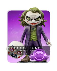 Voucher de Reserva - Joker - Minico Figures - Batman: The Dark Knight - Mini Co.