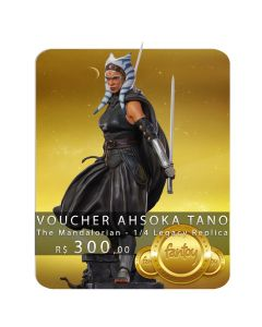 Voucher de Reserva - Ahsoka Tano - 1/4 Legacy Replica - The Mandalorian - Iron Studios