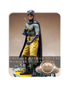 Voucher de Reserva - Batman Deluxe 1/10 Art Scale - Batman 66 - Iron Studios