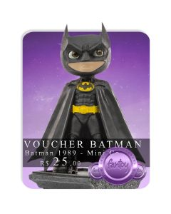 Voucher de Reserva - Batman - Minico Figures - Batman 1989 - Mini Co.