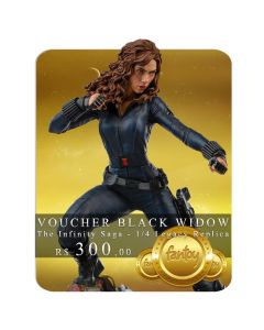 Voucher de Reserva - Black Widow - 1/4 Legacy Replica - The Infinity Saga - Iron Studios