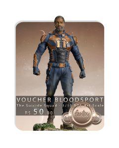 Voucher de Reserva - Bloodsport - 1/10 BDS Art Scale - The Suicide Squad - Iron Studios