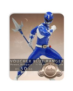 Voucher de Reserva - Blue Ranger - 1/10 BDS Art Scale - Power Rangers - Iron Studios