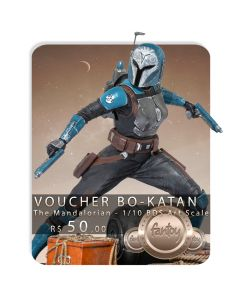 Voucher de Reserva - Bo-Katan - 1/10 BDS Art Scale - The Mandalorian - Iron Studios