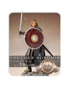 Voucher de Reserva - Boromir 1/10 BDS Art Scale - Lord Of The Rings - Iron Studios