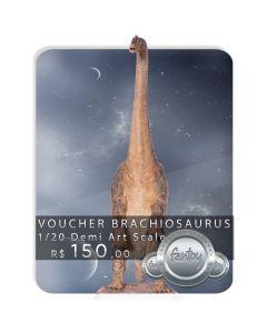 Voucher de Reserva - Brachiosaurus 1/20 Demi Art Scale - Jurassic Park - Iron Studios