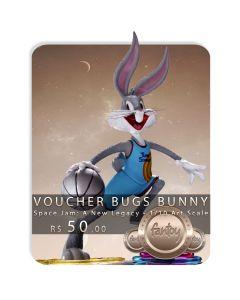 Voucher de Reserva - Bugs Bunny - 1/10 Art Scale - Space Jam: A New Legacy - Iron Studios