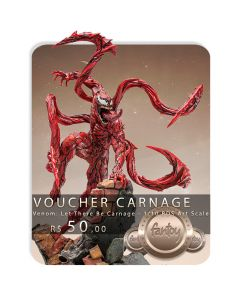 Voucher de Reserva - Carnage - 1/10 BDS Art Scale - Venom: Let There Be Carnage - Iron Studios