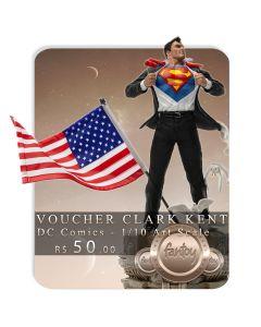 Voucher de Reserva - Clark Kent Deluxe - 1/10 Art Scale - DC Comics - Iron Studios