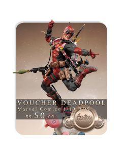 Voucher de Reserva - Deadpool Deluxe 1/10 BDS Art Scale - Marvel Comics -  Iron Studios