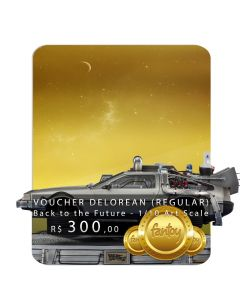 Voucher de Reserva - DeLorean (REGULAR) - 1/10 Art Scale - Back To The Future II - Iron Studios