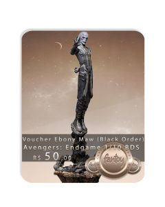 Voucher de Reserva - Ebony Maw 1/10 BDS (Black Order) - Avengers: Endgame - Iron Studios
