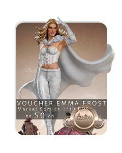 Voucher de Reserva - Emma Frost 1/10 BDS Art Scale - Marvel Comics -  Iron Studios