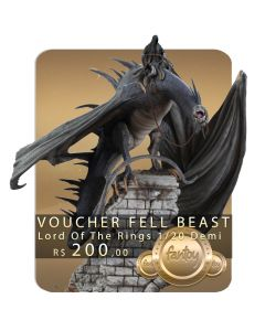 Voucher de Reserva - Fell Beast Diorama Demi Art Scale 1/20 - Lord of the Rings - Iron Studios