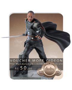 Voucher de Reserva - Moff Gideon - 1/10 BDS Art Scale - The Mandalorian - Iron Studios