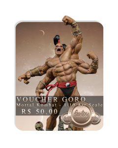 Voucher de Reserva - Goro 1/10 Art Scale - Mortal Kombat - Iron Studios