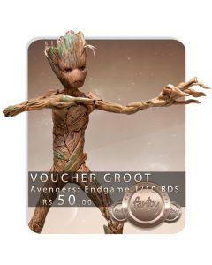 Voucher de Reserva - Groot 1/10 BDS - Avengers: Endgame - Iron Studios