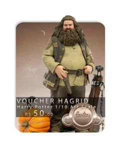 Voucher de Reserva - Hagrid Deluxe 1/10 Art Scale - Harry Potter -  Iron Studios