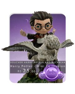 Voucher de Reserva - Harry Potter and Buckbeak - Minico Illusion - Harry Potter - Mini Co.
