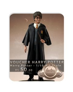 Voucher de Reserva - Harry Potter - 1/10 Art Scale - Harry Potter - Iron Studios