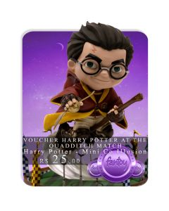 Voucher de Reserva - Harry Potter at the Quidditch Match - Minico Illusion - Harry Potter - Mini Co.