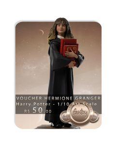Voucher de Reserva - Hermione Granger - 1/10 Art Scale - Harry Potter - Iron Studios