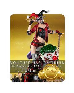 Voucher de Reserva - Harley Quinn - 1/3 Prime Scale - DC Comics - Iron Studios