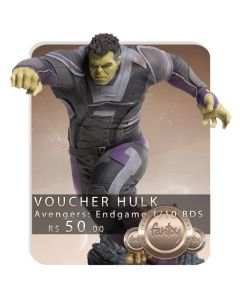 Voucher de Reserva - Hulk 1/10 BDS (VERSÃO REGULAR) - Avengers: Endgame - Iron Studios