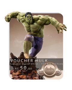Voucher de Reserva - Hulk 1/10 BDS Art Scale - Avengers: Age of Ultron - Iron Studios
