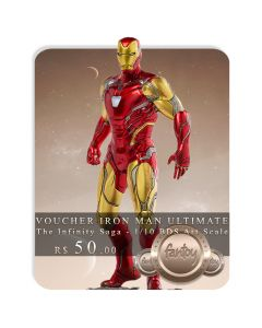 Voucher de Reserva - Iron Man Ultimate - 1/10 BDS Art Scale - The Infinity Saga - Iron Studios