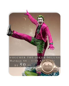 Voucher de Reserva - The Joker Deluxe 1/10 Art Scale - Batman 66 - Iron Studios