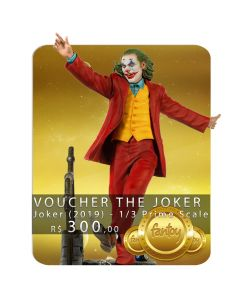 Voucher de Reserva - The Joker - 1/3 Prime Scale - Joker (2019) - Iron Studios