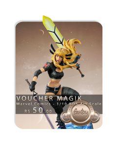 Voucher de Reserva - Magik - 1/10 BDS Art Scale - Marvel Comics - Iron Studios