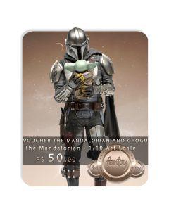 Voucher de Reserva - Mandalorian and Grogu 1/10 Art Scale - The Mandalorian - Iron Studios