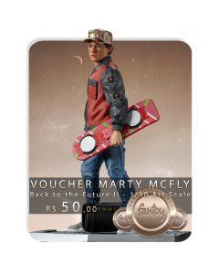 Voucher de Reserva - Marty McFly - 1/10 Art Scale - Back To The Future II - Iron Studios