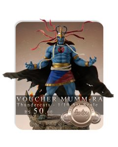 Voucher de Reserva - Mumm-Ra - 1/10 Art Scale - Thundercats - Iron Studios