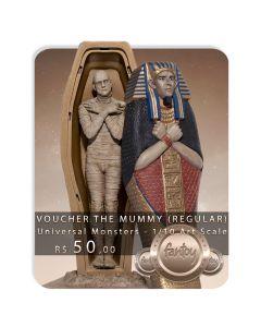 Voucher de Reserva - The Mummy (VERSÃO REGULAR) - 1/10 Art Scale - Universal Monsters - Iron Studios