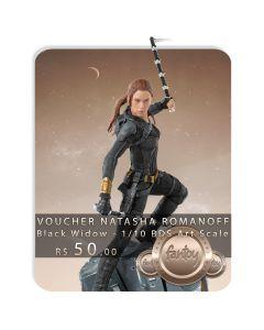 Voucher de Reserva - Natasha Romanoff - 1/10 BDS Art Scale - Black Widow - Iron Studios