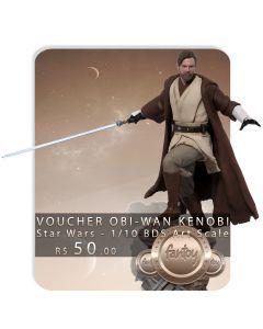 Voucher de Reserva - Obi-Wan Kenobi - 1/10 BDS Art Scale - Star Wars - Iron Studios